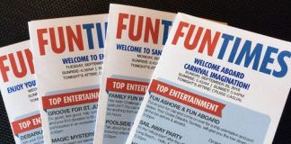 Carnival Imagination Funtimes daily newsletter