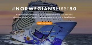 NORWEGIAN CRUISE LINE CELEBRATES ITS FIRST 50 YEARS OF UNFORGETTABLE CRUISE VACATIONS