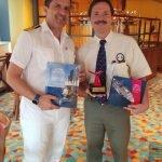 Biscayne Bay Pilots Vista Plaque exchange