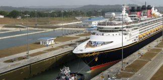 Disney Wonder Transited New Panama Canal