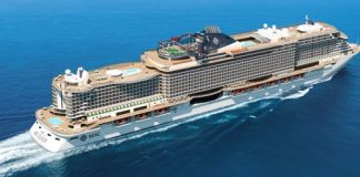 MSC Cruises Celebrates MSC Seaview Sail Out