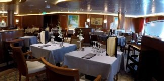 Coral Dining Room on Caribbean Princess