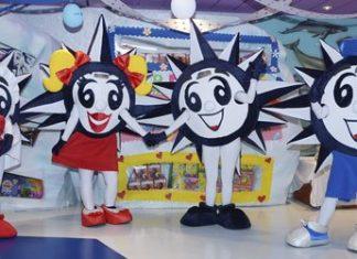 MSC Cruises Mascots