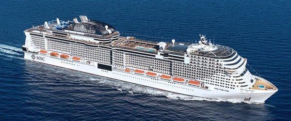 MSC Cruises Celebrates Float Out Of MSC Grandiosa ...
