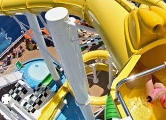 Carnival Sunshine slides