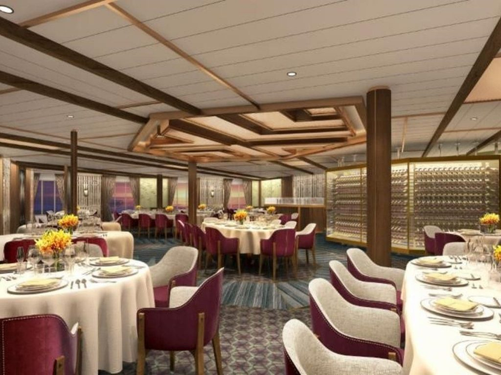 Seabourn dining experience