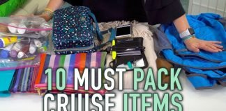 10 Must Pack Cruise Items