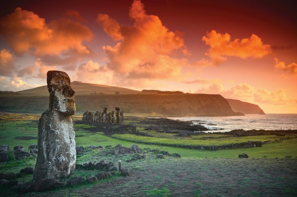 Easter Island Chile Seabourn - World cruise