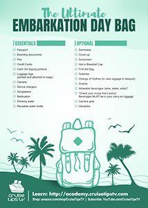 Click to download Ultimate Embarkation Day Bag Checklist