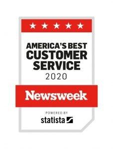 Disney Newsweek Customer Service Award