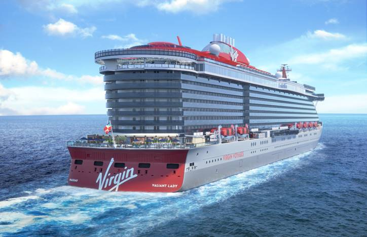 Virgin Cruises Valiant Lady
