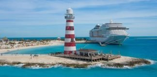 MSC Ocean Cay First Guests Arrive