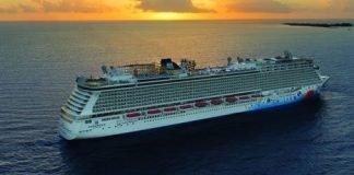 NCL Breakaway at Sea