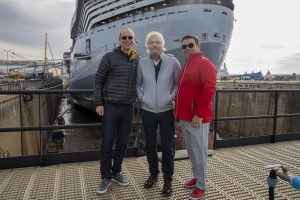 Richard Branson Scarlet Lady Sea Trials