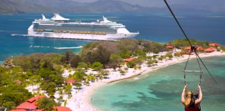 Freedom of the Seas and Royal Caribbeans private destination Labadee