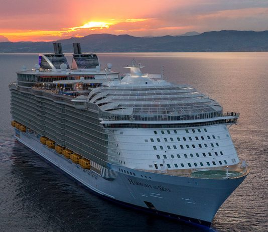 Harmony of the Seas Sunset
