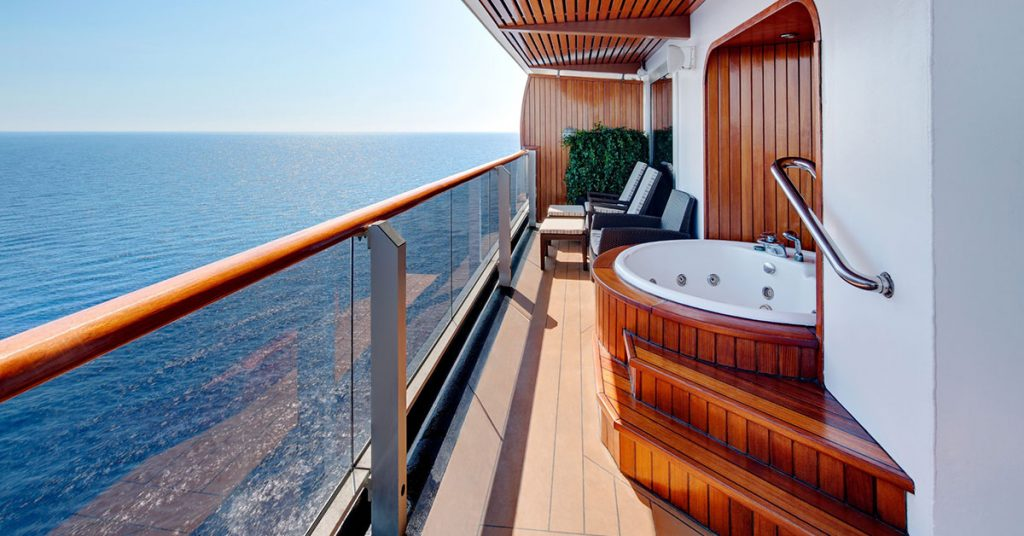 Holland America Pinnacle Suite Balcony