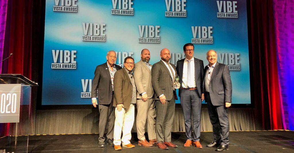Holland America VIBE Vista Award