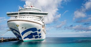 Princess Cruises cancels sailings -Caribbean Princess in Grand Turk