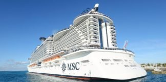 MSC Seaside at Sea