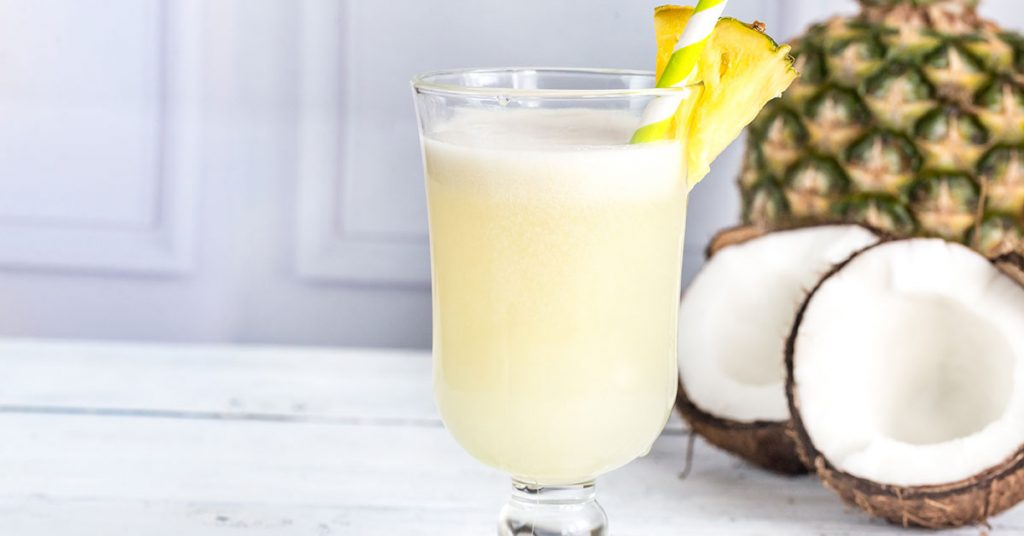 Irresistible 3 Ingredient Skinny Pina Colada