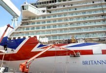 P&O cruises cancellations - Britannia