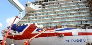 P&O cruises cancellations - Britannia