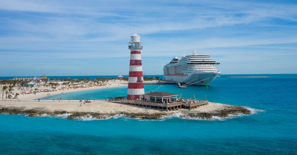 MSC Cruises ocean cay credit ap images for MSC Cruises