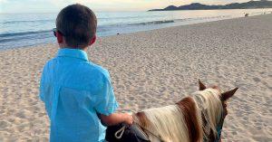 Cruise vs All Inclusive Resort Horseback