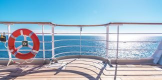 cruise world ship wooden deck