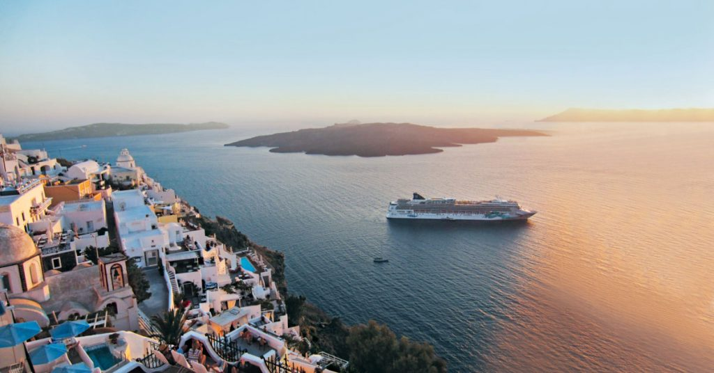 healthy sail panel ncl Jade Greece