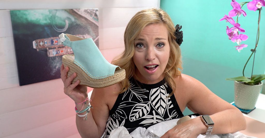 Giant Unboxing Macy's Shoes