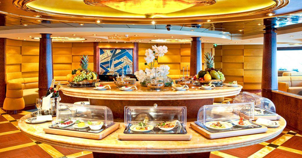 MSC Cruises food