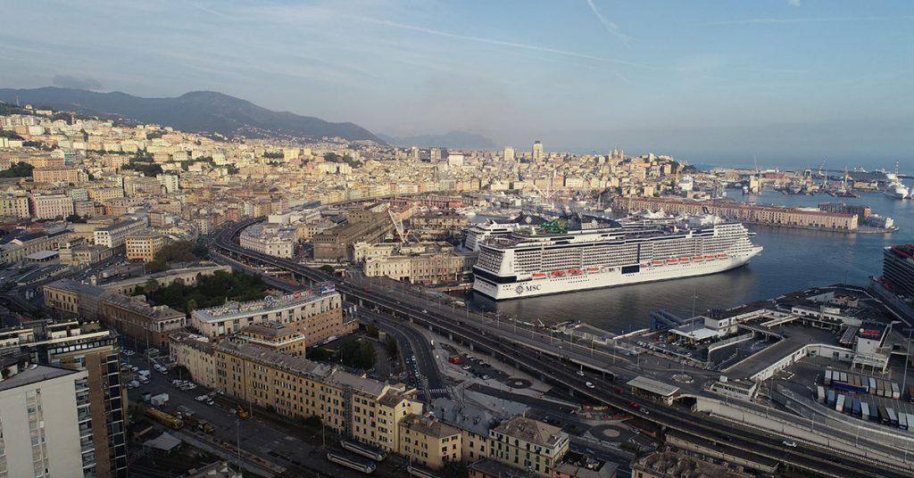 MSC Cruises GRANDIOSA READY To DEPART GENOA