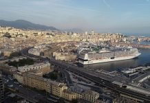 MSC Cruises GRANDIOSA READY To DEPART GENOA