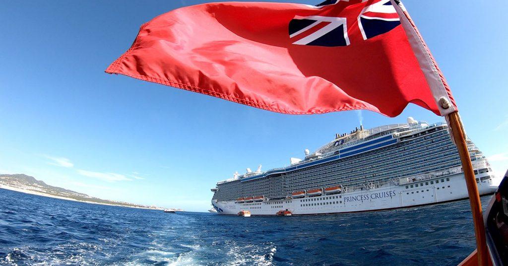 Royal Princess Menus Ship Exterior
