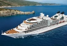 Seabourn Quest Aerial