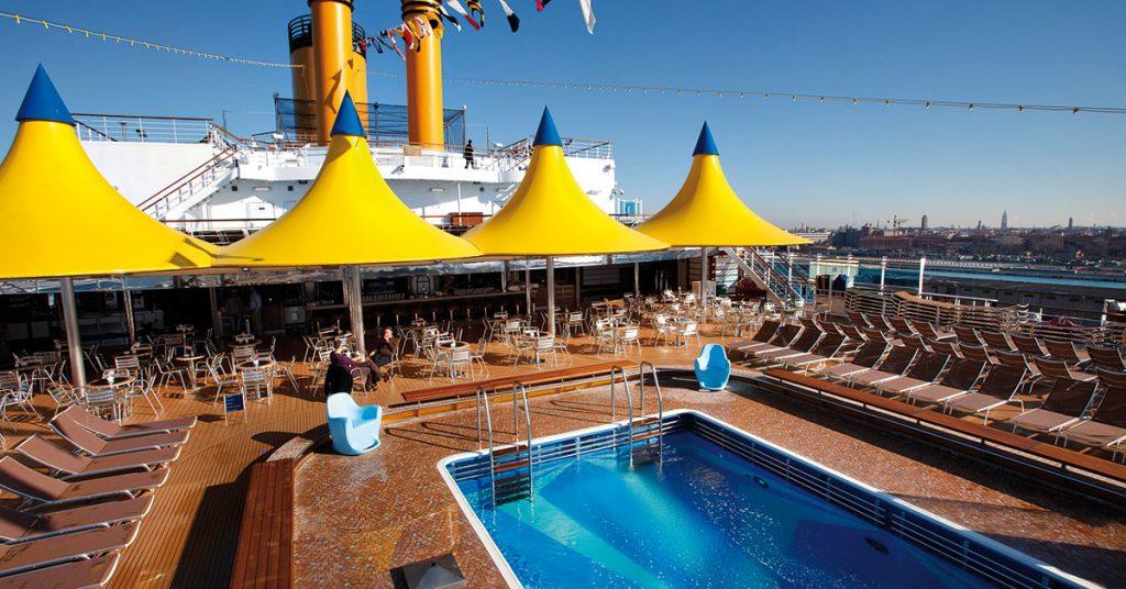 Costa cruises Deliziosa is back
