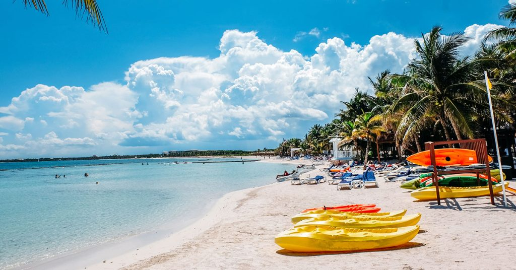 Cruise to mexico - awesome beach
