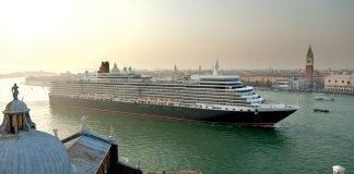 Cunard Queen Elizabeth Venice