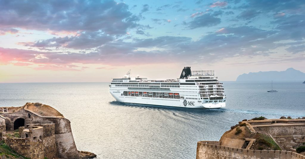 MSC Cruises abor day sale