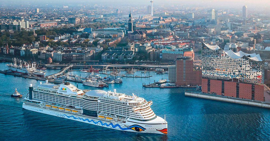 AIDA Cruises to restart AIDAperla Hamburg