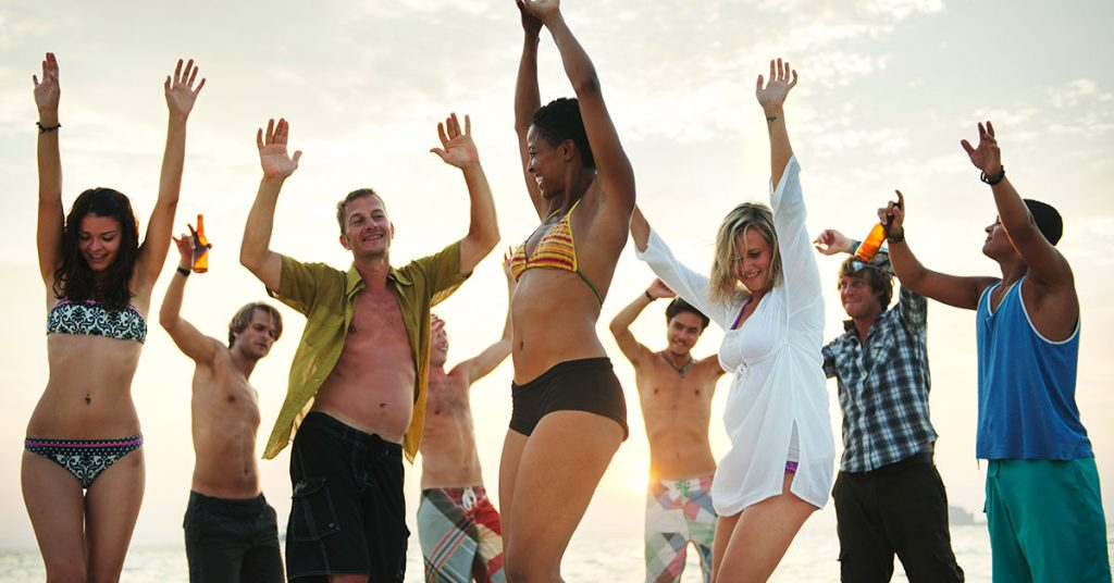 Best Time to Cruise the Mexican Riviera Crowds on beach