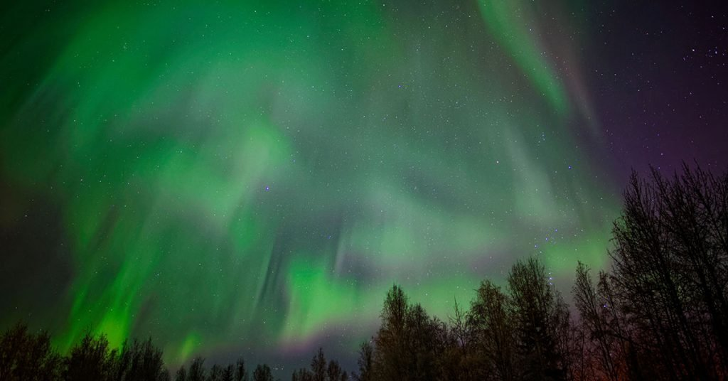 Best time to cruise to Alaska Northern Lights