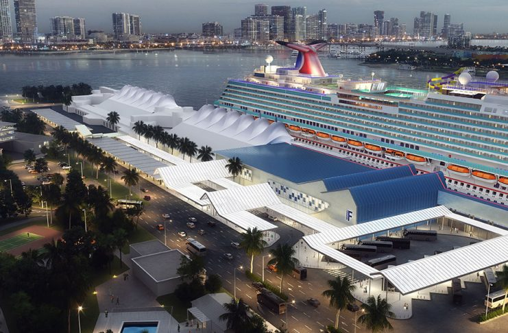 Carnival Cruise Line PortMiami rendering