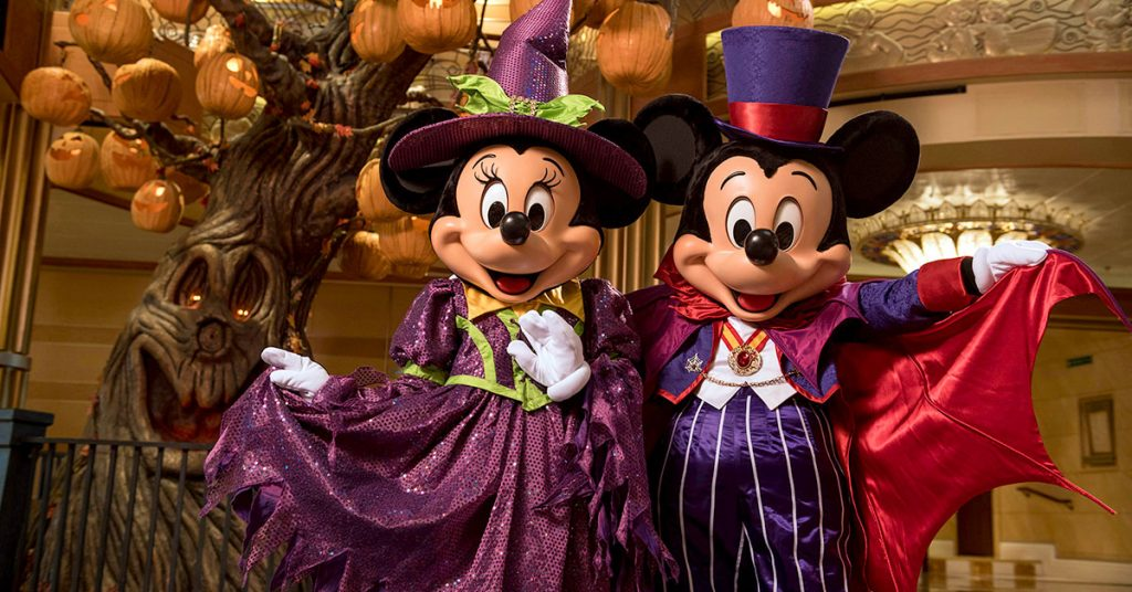 Disney Cruise Line Halloween Itineraries