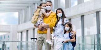 Is cruising safe - family wearing masks