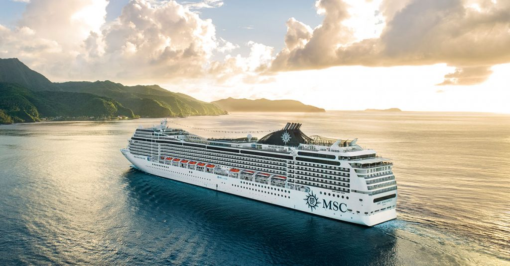 MSC Magnifica MSC Cruises restart