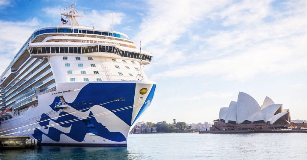 Princess Cruises Australia Pause in operations