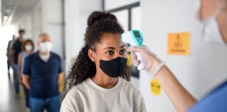 Return to cruising face masks testing